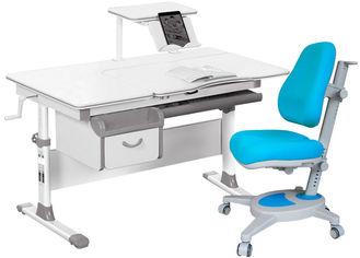 Комплект Evo-kids Evo-40 G + кресло Y-110 KBL Серый с синим (Evo-40 G + Y-110 KBL) от Rozetka