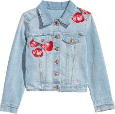 Джинсовая куртка H&M 9Z5421596 164 см Голубой (hm05051787264) от Rozetka
