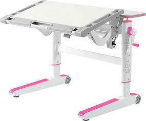 Детский стол Mealux Ergowood M Серый с розовым (BD-800 TG/PN) от Rozetka