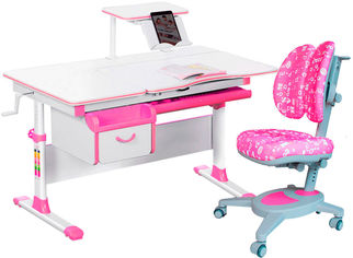 Комплект Evo-kids Evo-40 PN + кресло Y-115 APK Розовый (Evo-40 PN + Y-115 APK) от Rozetka