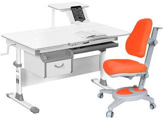 Комплект Evo-kids Evo-40 G + кресло Y-110 KY Серый с оранжевым (Evo-40 G + Y-110 KY) от Rozetka