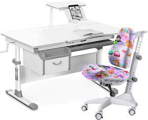 Комплект Evo-Kids Evo-40 G Grey + кресло Y-528 GL от Rozetka
