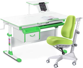 Акция на Комплект Evo-Kids Evo-40 Z Green + кресло Y-528 KZ от Rozetka