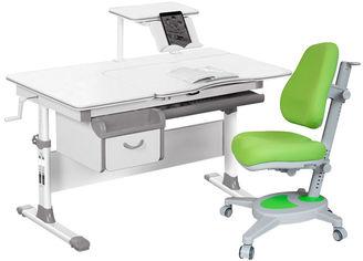 Акция на Комплект Evo-kids Evo-40 G + кресло Y-110 KZ Серый с зеленым (Evo-40 G + Y-110 KZ) от Rozetka