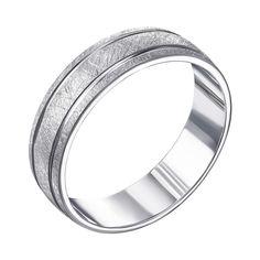 Акция на Серебряное обручальное кольцо 000119335 23.5 размера от Zlato