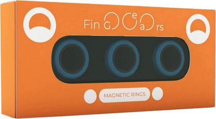 Магнитные кольца FinGears Magnetic Rings Sets Size M Blue-Black (FG380MBLUBLK) от Rozetka