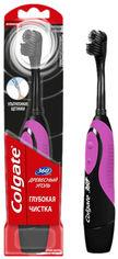 Электрическая зубная щетка Colgate 360 Древесный уголь Фиолетовая (4606144006548_фиолетовая) от Rozetka