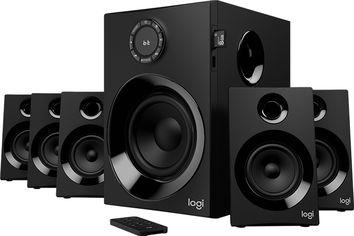 Акция на Акустическая система Logitech Audio System Z607 5.1 Bluetooth Black (980-001316) от Rozetka