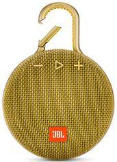 Портативная акустика JBL Clip 3 Mustard Yellow (JBLCLIP3YEL) от MOYO