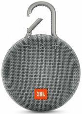 Портативная акустика JBL Clip 3 (JBLCLIP3GRY) Grey от Територія твоєї техніки