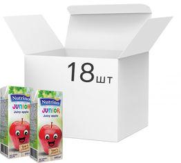 Упаковка сока Nutrino junior яблочного 18 шт х 200 мл (8606019657710) от Rozetka