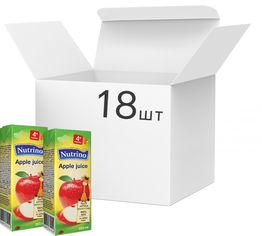 Упаковка сока Nutrino яблочного 18 шт х 200 мл (8606019657666) от Rozetka