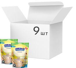 Упаковка молочной каши Nutrino 7 злаков с 6 месяцев 200 г х 9 шт (8606019657598) от Rozetka