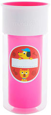 Акция на Чашка-непроливайка Munchkin Miracle 360 Insulated Sticker Розовая 266 мл (17407.02) от Rozetka
