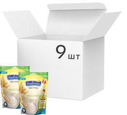 Упаковка молочной каши Nutrino Рисовая с 6 месяцев 200 г х 9 шт (8606019657574) от Rozetka