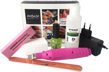 Акция на Стартовый набор Avenir Cosmetics для снятия гель-лака (4820440814533) от Rozetka