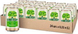 Акция на Упаковка сидра Somersby Яблочный сладкий 4.7% 0.33 л x 24 шт (4820000458832_4820000458832) от Rozetka