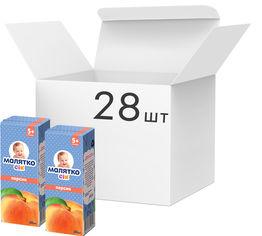Упаковка сока с мякотью Малятко Персик 200 мл х 28 шт (4820123510547) от Rozetka