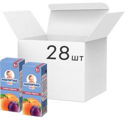 Упаковка сока Малятко Слива-Персик 200 мл х 28 шт (4820123511148) от Rozetka