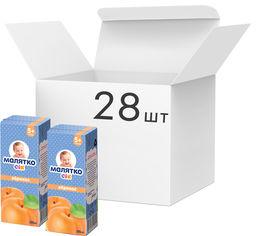 Упаковка сока с мякотью Малятко Абрикос 200 мл х 28 шт (4820123510554) от Rozetka