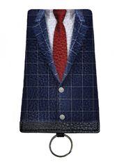 Акция на Кожаная ключница Devays Maker галстук 10-01N-443 от Podushka