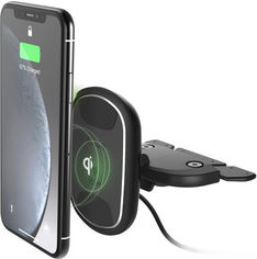 iOttie Car Holder iTap 2 Magnetic Wireless Charger Cd Slot Mount Black (HLCRIO139) от Stylus