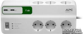 Сетевой фильтр APC Essential SurgeArrest 6 outlets + 2 USB (PM6U-RS) от Rozetka