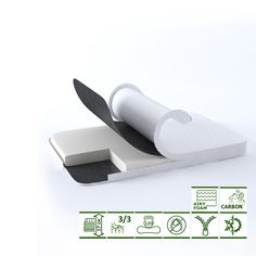 Акция на Ортопедический матрас Green Streem Carbo Wave Extra 80х190 см (02022020-12-01) (2020120801903) от Rozetka