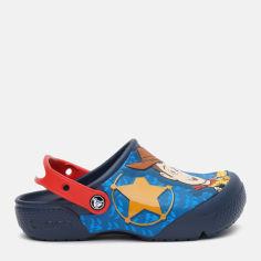 Сабо Crocs Kids' Crocs Fun Lab Disney And Pixar Buzz & Woody Clog 205493-410-J1 32-33 20 см Синие (9001053483209) от Rozetka