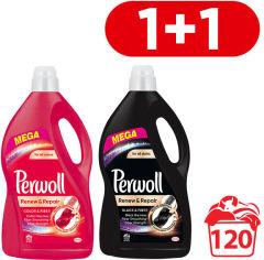 Средство для деликатной стирки Perwoll Color 3.6 л + Black 3.6 л (9000101425864) от Rozetka