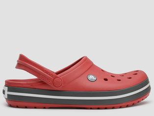 Сабо Crocs Kids Crocband Clog 204537-6IB-J5 37-38 23.3 см Красные (191448427891) от Rozetka
