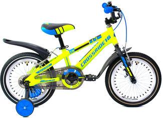 """Детский велосипед Crossride Jersey 16"""" 9"""" Салатовый (0455) от Rozetka"""