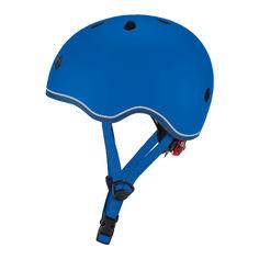 Акция на Защитный шлем Globber Evo light синий с фонариком 45-51 см (506-100) от Будинок іграшок