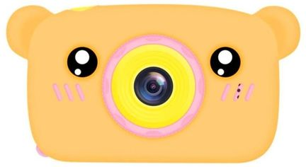 Цифровой детский фотоаппарат Baby Photo Camera Bear orange от Stylus