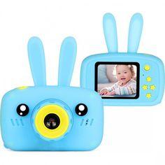 Цифровой детский фотоаппарат Baby Photo Camera Rabbit blue от Stylus