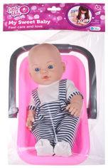 Акция на Пупс Little You Малыш с переноской 30 см (PU12) (4814723005442) от Rozetka