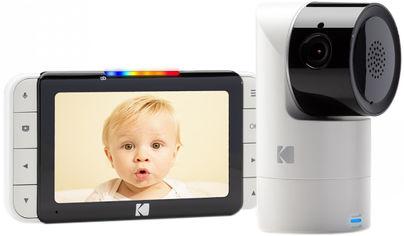 Акция на Цифровая видеоняня Kodak C525 HD Wi-fi с родительским блоком (C525000C525) (4895222700045) от Rozetka
