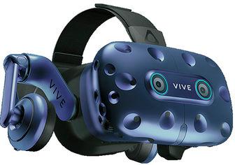 Очки виртуальной реальности HTC VIVE PRO FULL KIT EYE (2.0) Blue-Black (99HARJ010-00) от Rozetka