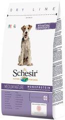 Сухой монопротеиновый корм Schesir Dog Medium Mature для пожилых или малоактивных собак средних пород с курицей 12 кг (8005852161161) от Rozetka