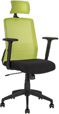 Кресло офисное Office4You Bravo Black-Green (21144) от Rozetka