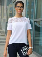 Блузка Dressa 10225 48 Белая (2000000470030) от Rozetka