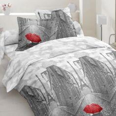 Комплект постельного белья MirSon Бязь 17-0138 Pluie 160х220 см (2200001644861) от Rozetka