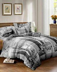 Акция на Комплект постельного белья MirSon Бязь Premium 17-0137 Celeste 2 175х210 см (2200001644687) от Rozetka