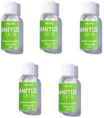 Акция на HiLLARY Skin Sanitizer Double Hydration spring grass 5x35 ml Антисептик Санитайзер от Stylus