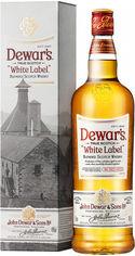 Акция на Виски Dewar's White Label от 3 лет выдержки 1л 40% gift box (PLK5000277001255) от Stylus