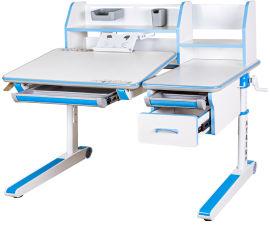 Акция на Детский стол Mealux Sherwood W/BL Белый с синим (BD-830 W/BL) от Rozetka