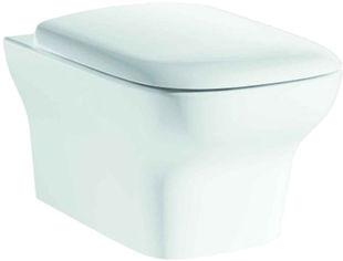 Унитаз подвесной PRIMERA Tyrol 8220023 с сиденьем Soft Close дюропласт от Rozetka