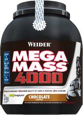 Акция на Гейнер Weider New Formula Mega Mass 4000 3 кг Шоколад (4044782325452) от Rozetka