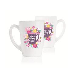 Набор кружек Luminarc New Morning Coffe Is Always A Good Idea 2х320 мл P5148 от Podushka