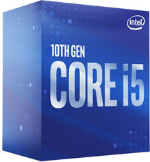 Процессор Intel Core i5-10600K 4.1GHz/12MB (BX8070110600K) s1200 BOX от Rozetka